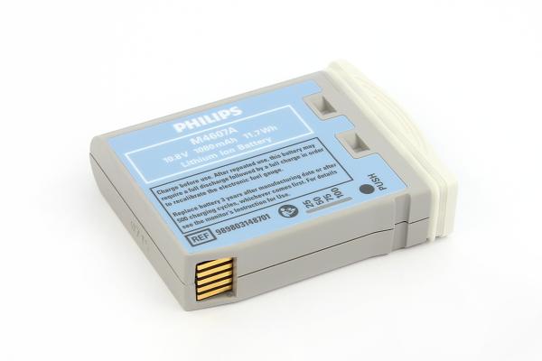 Li-Ion Akku für Monitor PHILIPS INTELLIVUE MP2/X2/M3002A/M8102 M4607A - 10,8V/1,08Ah (ORIGINAL)