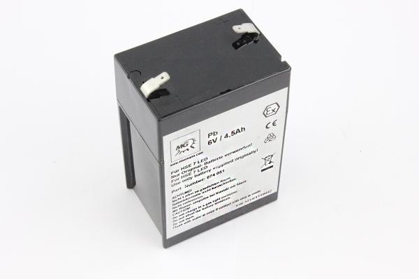 PB-Akku für Handlampe Eisemann HSE7LED