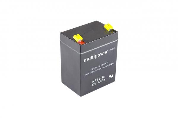 Multipower Blei Akku MP12-2,9