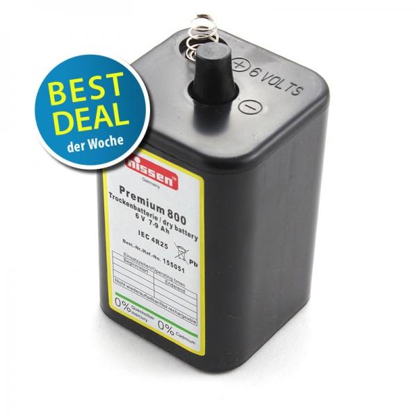 Nissen Zink-Kohle Batterie 4R25 im Best Deal KW8