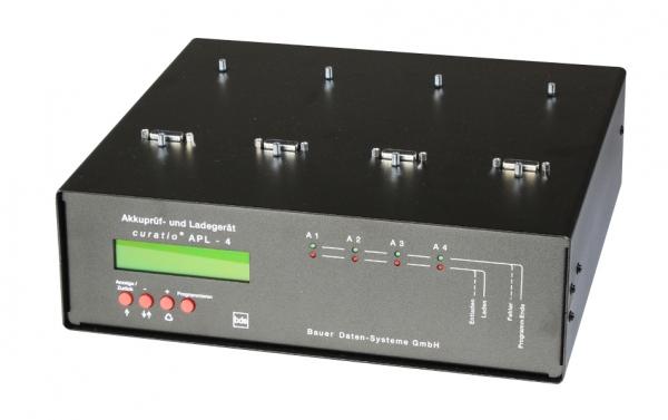 Axcom SMAPL4P 4-Stationen Lade- und Prüfgerät für Akkus