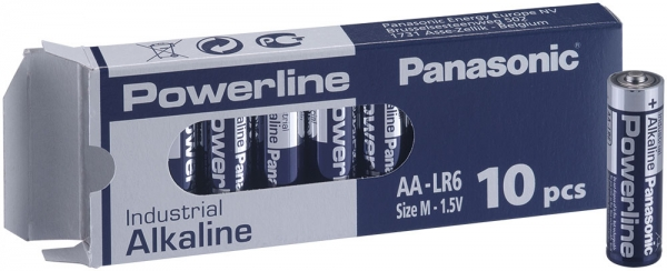 Panasonic Alkaline AA/LR6/Mignon