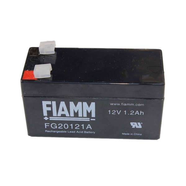 PB-Akku FIAMM FG20121A - 12V/1,2AH (VDS) - schmale Baufrom 42 mm