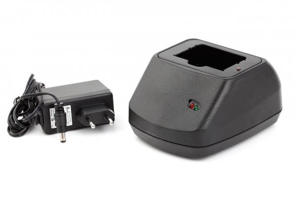 Axcom Schnellladegerät für HBC Kransteuerungsakkus