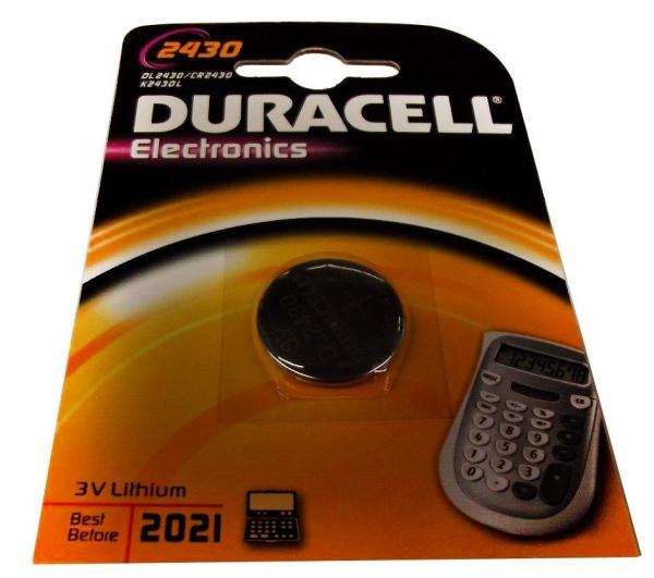 Duracell CR2430/DL2430/ECR2430/L20/5011LC Blister