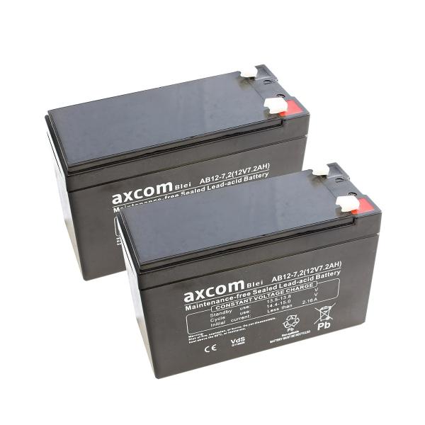 Axcom Blei Akku-Paket für Hill-Rom Total Care Affinity III Beds