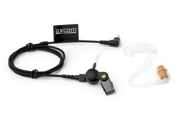 XEC100W Ohrhörer mit Schallschlauch/Wandlereinheit, 3,5mm Winkelstecker