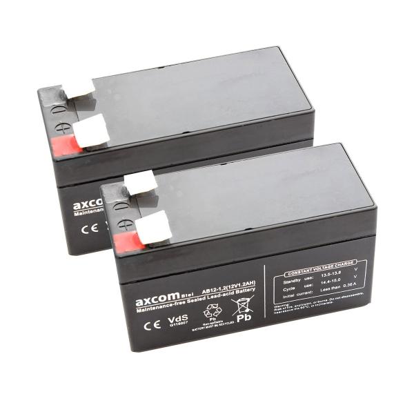 Axcom Blei Akkubundle passend für Stiegelmeyer Vivendo EM1/EM3/EM4